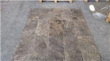Silver Travertine Tiles & Slabs, Grey Travertine Floor Tiles, Covering Tiles