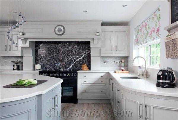 round types of kitchen countertops   Engineered Corian Stone Countertop for Kitchen Island Top ...