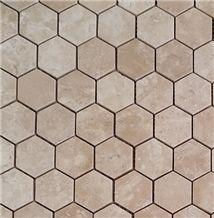 Beige Travertine Mosaic