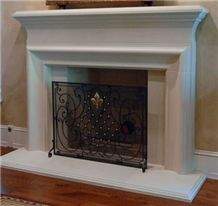 Cast Stone Fireplace Mantel,Artificial Marble Fireplace Surround