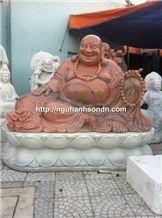 Marble Happy Buddha Statues