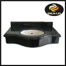 Shanxi Black Granite Vanity Top Bath Top