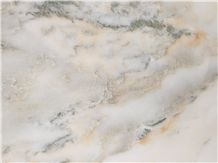 New Stone-China Green Wave White Marble Slabs & Tiles