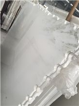 Shangri La White Marble Slabs & Tiles for Interior Decoration Floor Covering,China Bianco Shangrila Marble Tile/China Bianco Statuario Marble Slabs & Tiles-High Polished
