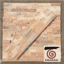 Sunset Marble Cultured Stone, Ledge Wall Stone Cladding, Stone Veneer