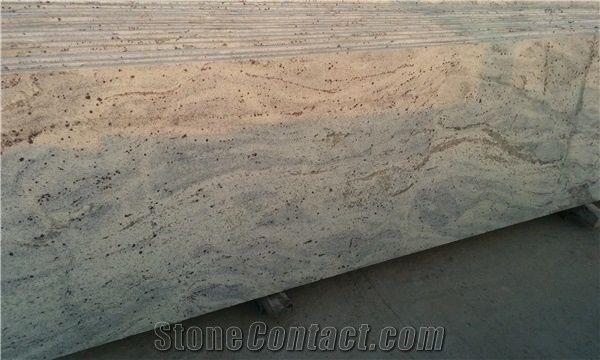 New Kashmir White Granite Kitchen Countertops Andromeda