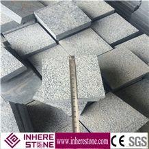China Granite Stone, Dark Grey G654 Granite Paver, Bush Hammer Granite Cube