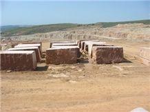 Red Alandalus Marble- Blocks