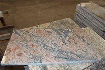 African Multicolour Granite Tiles