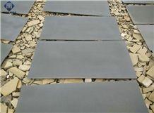 Hainan Grey Basalt Tiles & Slabs, Basalt Wall/ Floor Covering Tiles