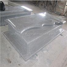 G650 Granite Poland Tombstone & Gravestone, Winggreen