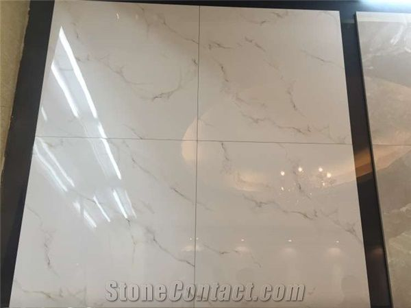 Carrara White Porcelain Tiles Porcelain Floor Tiles From China