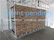 Lightweight Brick Honeycomb Panels for Wall Cladding
