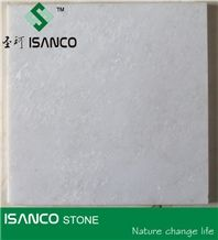 Sanco Stone Snow White Marble Slab, Polished Pure White Marble Tiles, Natural White Marble for Indoor Flooring & Wall Covering