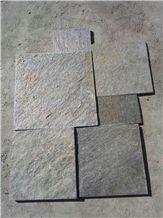 Environmental Natural Black Flamed Quartzite Tiles & Slabs