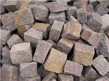 Porfido Trentino Cube Stone Paving Set