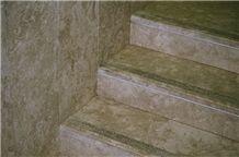 Jerusalem Grey Limestone Stairs