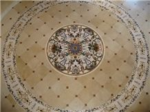 Jerusalem Halila Beige Limestone Floor Tiles, Patterns