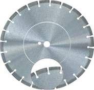 Protective Segment Laser Welded Blade for Asphalt