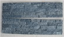 Black Quartzite Cultured Stone for Wall Decor Wall Cladding