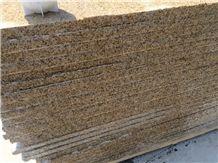 G682, Golden Peach, Sunset Gold, Yellow Pink, Rustic Yellow, Yellow Rustic Granite Slabs, Floor Tiles, Wall Tiles, Yellow Granite Slabs & Tiles, Granite Floor Covering, Granite Wall Covering