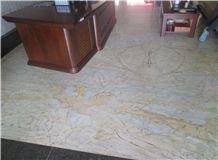 Kashimir Gold Granite Slabs & Tiles, Brazil White Granite