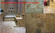 Rustic Travertine Walling Tiles, Beige Travertine Building & Walling