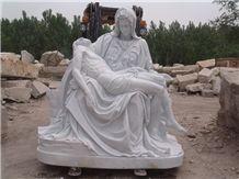 Human Sculptures, Statue Of Jesus Virgin Mary Sculpture/Mother Of God Statues