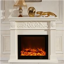 Modern Hot Sale Marble Fireplace ,Professional and Useful Marble Fireplace for Your Home/Hotel/Project