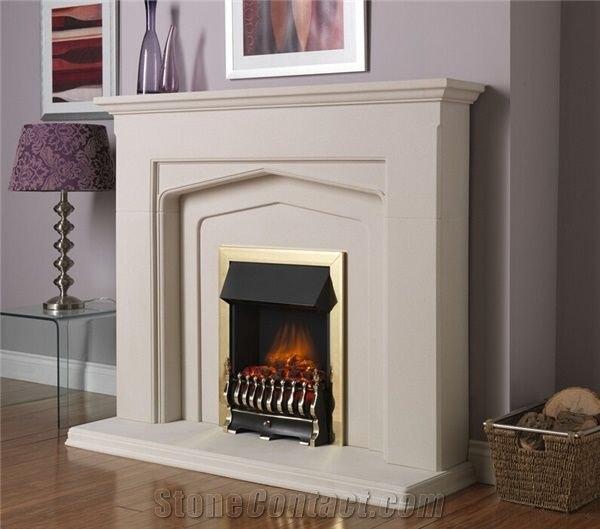 White Marble Hand Carving Fireplace Supply Various Of Style