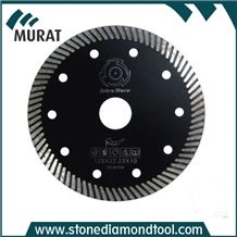 125mm Turbo Diamond Saw Blade for Granite, Concrete and Marble