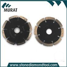 Hot Pressed Segmented Diamond Turbo Saw Blade for Cutting Granite