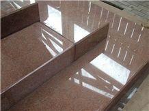 Kurdaisk Red Granite Stair
