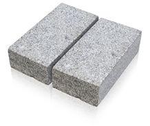 Sibirskiy - Ural Gray Granite Cobble Stone, Cube Stone