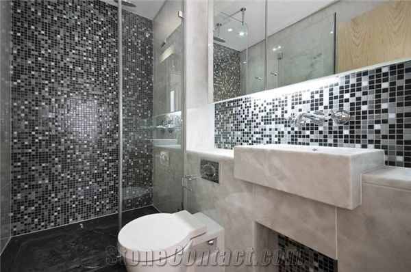 Mosaic For Bathroom Image Of