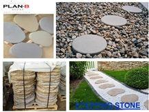 Grey Vietnam Sandstone Stepping Stone, Flagstone