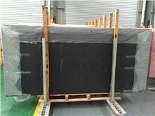 Black Quartz Stone Slab,Engineered Stone Slab,Artificial Stone,Solid Surface Top,Silestone
