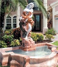 Marble Human Sculptured Fountains, Garden Fountains, Water Features