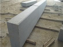 China G654 Granite Kerbstone Flamed Surface