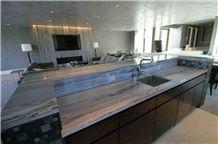 Terra Bianca Quartzite Kitchen Countertop