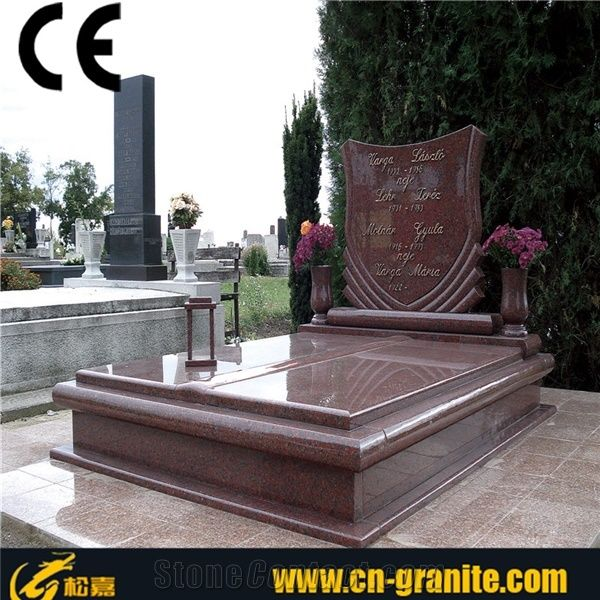 China Red Granite Tombstone Australia Headstone Red