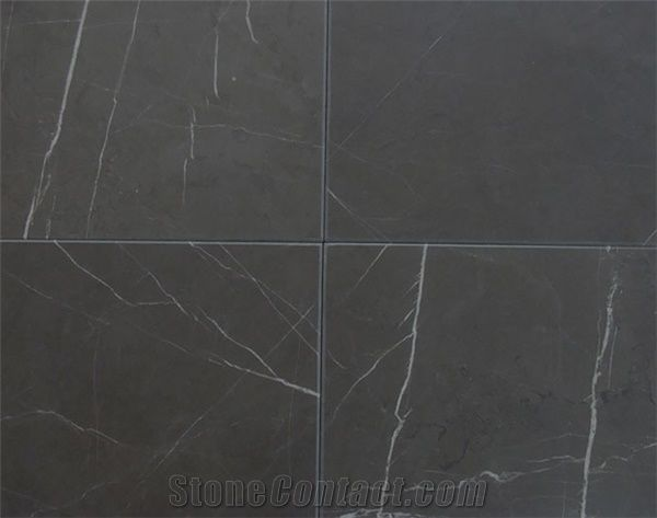 Pietra Gray Marble Tiles Slabs Grey Polished Marble Floor Tiles