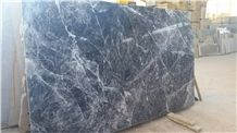 Blue Storm Marble, Marmol Blue Storm Slabs , Grey Polished Marble Floor Tiles, Wall Tiles