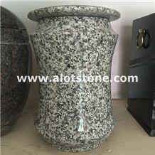 G655 Granite Monumental Vase,Flower Holders