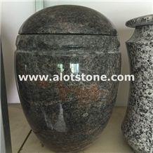 Himalayan Blue Granite Urns Memorial Accessories