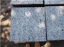 Lava Stone, Black Basalt Viet Nam Tiles & Slabs