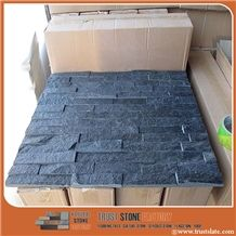 Cheap Quartzite Stone Strips, a Grade Glued Cultured Stones Ledges Stone Veneer for Fireplace Wall Decoration