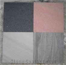 China Black/Grey/Red/White Quartzite Tiles for Walling,Flooring