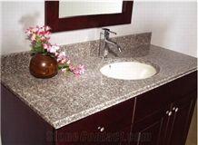 G623 Granite Bathroom Countertops, Bathroom Vanity Tops