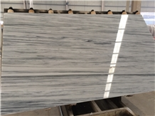 Ocean Grey Vein White Marble Slabs & Tiles, China White Marble